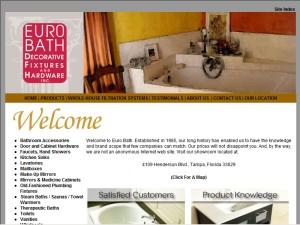 Bathroom Fixtures Tampa euro bath decorative fixtures & hardware, inc. - tampa, fl
